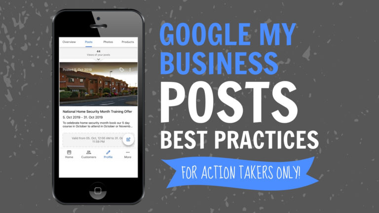 Google My Business Posts Best Practices
