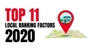 TOP 11 Local Ranking Factors 2020