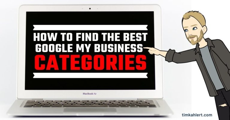 how to find the best google my business categories