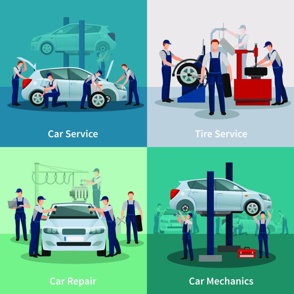 car repair shop Google My Business categories