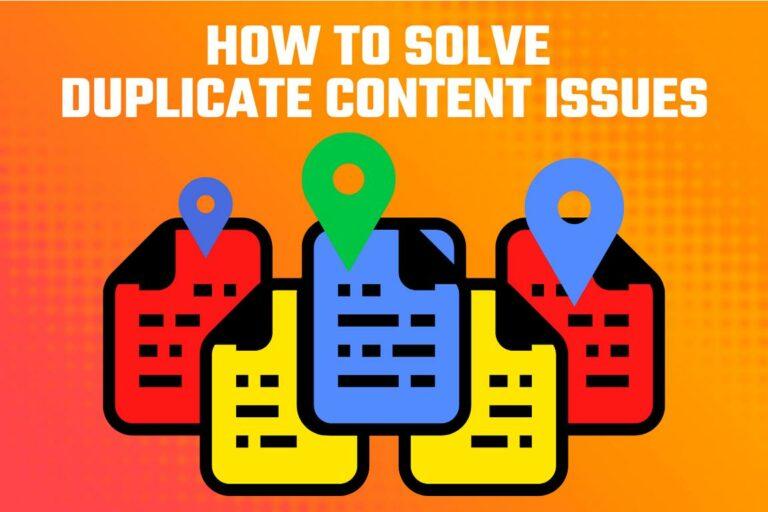 Duplicate Content Local SEO