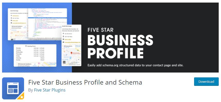 five star business profile and schema local SEO plugin