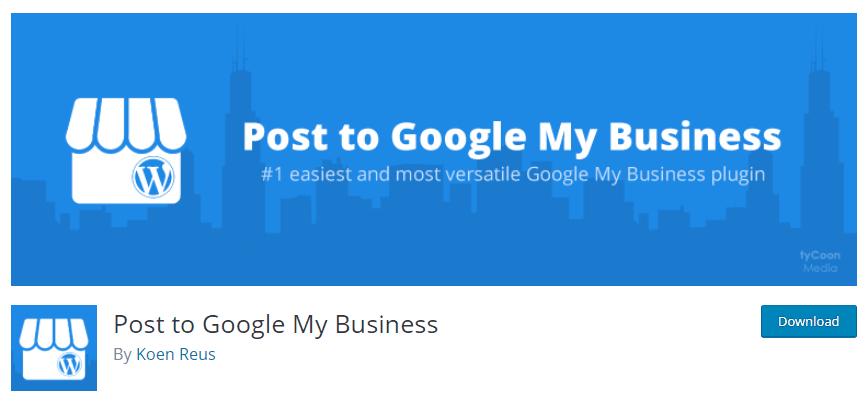 local seo wordpress plugin post to google my business